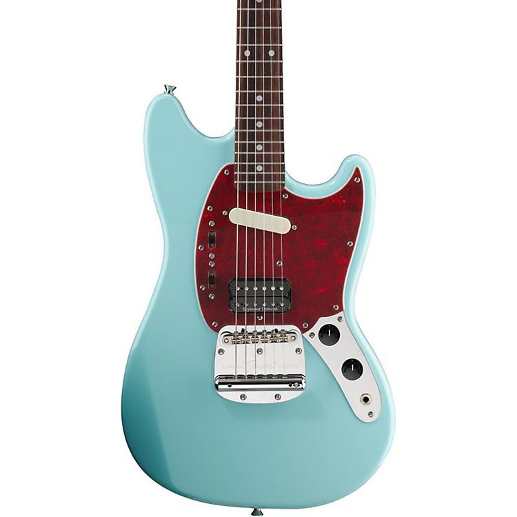 FenderKurt Cobain Signature Mustang Electric GuitarSonic BlueRosewood Fingerboard