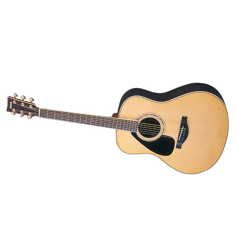 YamahaL Series Left-Handed Dreadnought Acoustic Guitar with CaseNatural