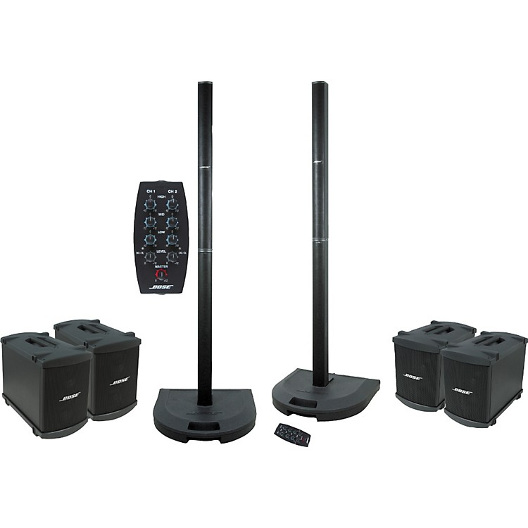 bose l1 model 1 dual system quad bass package music123. Black Bedroom Furniture Sets. Home Design Ideas