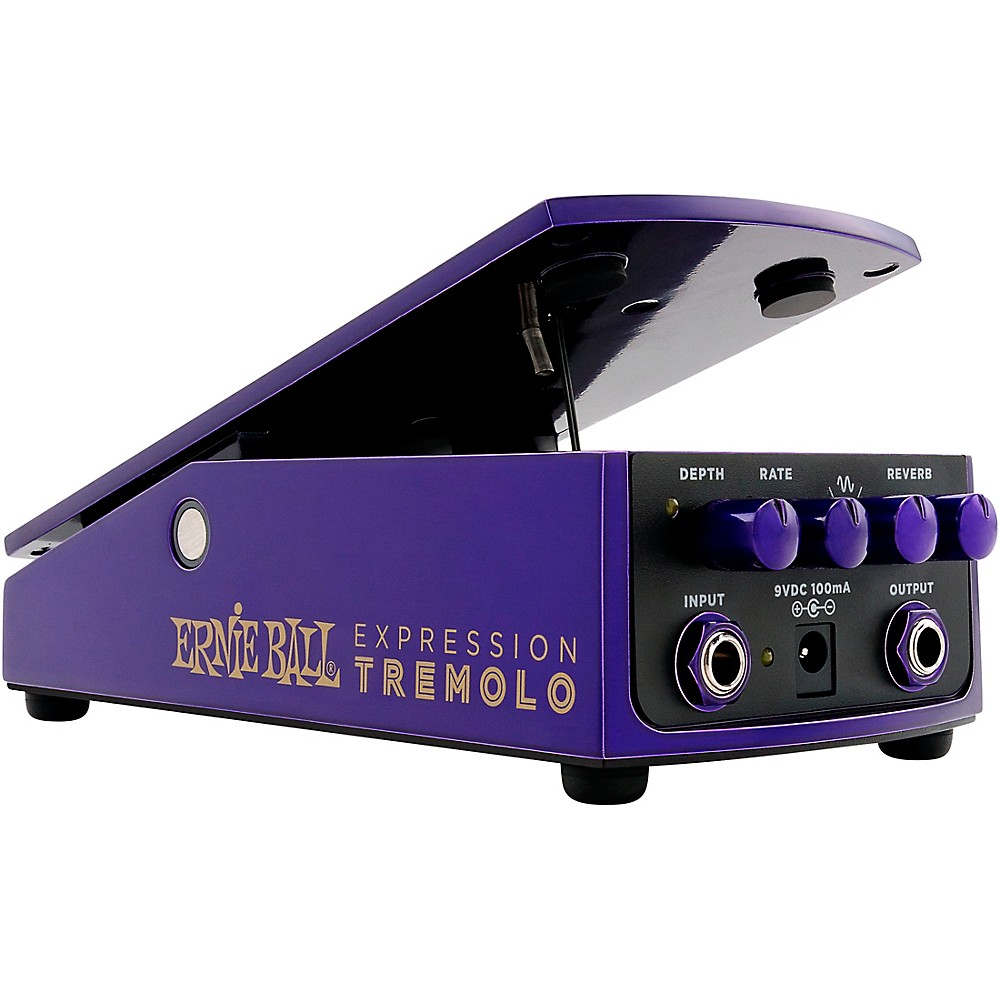 ernie ball expression tremolo effects pedal ebay. Black Bedroom Furniture Sets. Home Design Ideas