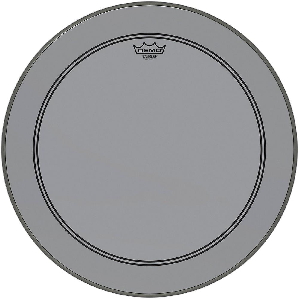 20 Remo Powerstroke P3 Colortone Orange Bass Drumhead 5 Offset Hole