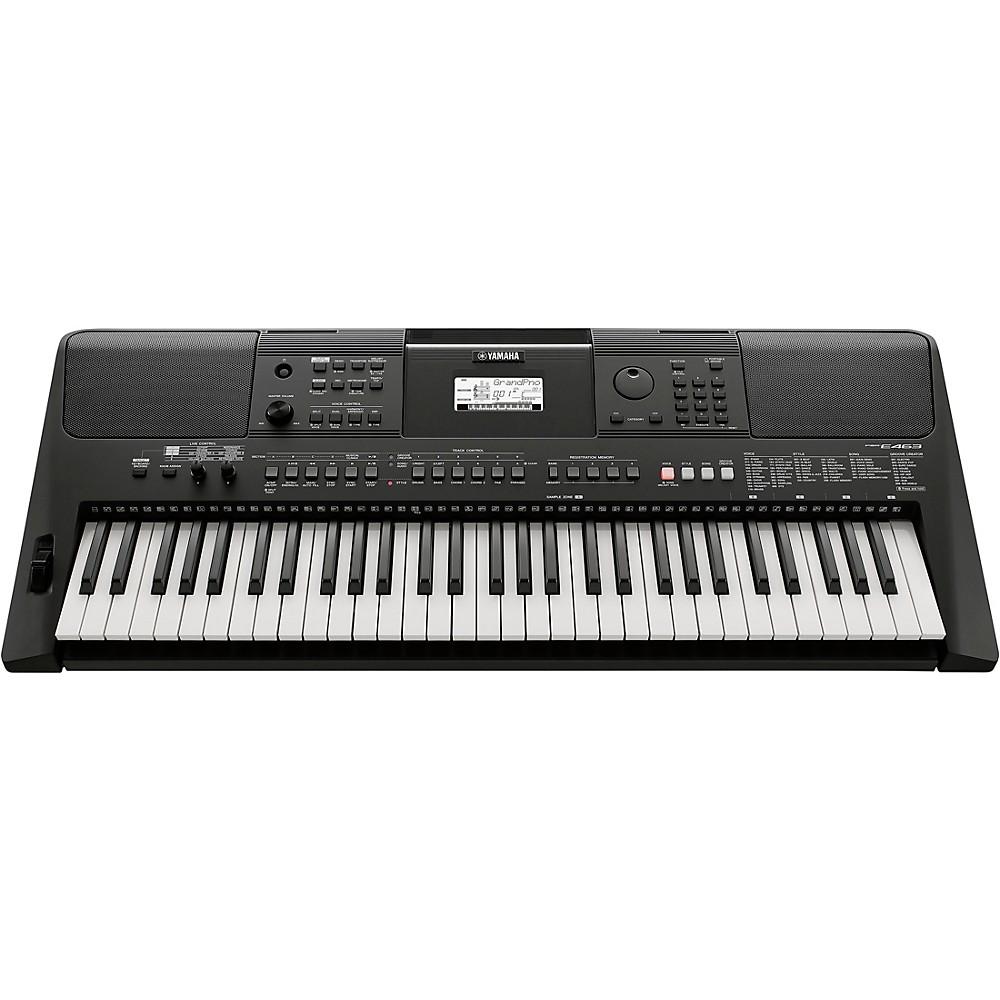 yamaha psr e463 portable keyboard 889025116145 ebay. Black Bedroom Furniture Sets. Home Design Ideas