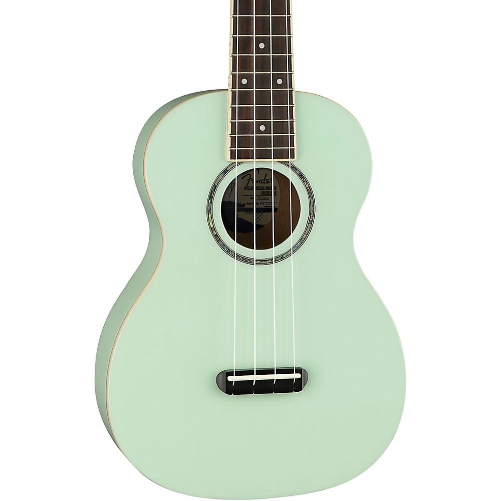 fender limited edition zuma concert ukulele surf green ebay. Black Bedroom Furniture Sets. Home Design Ideas