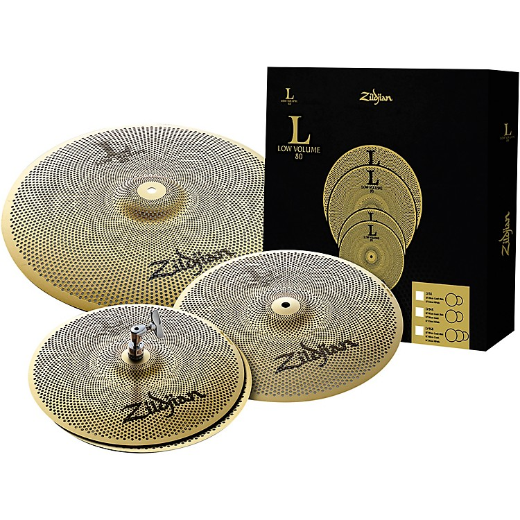 Zildjian L80 Series LV348 Low Volume Cymbal Box Set