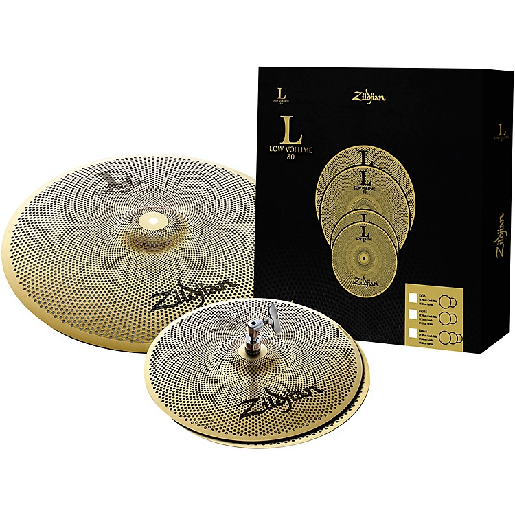 Zildjian L80 Series LV38 Low Volume Cymbal Box Set