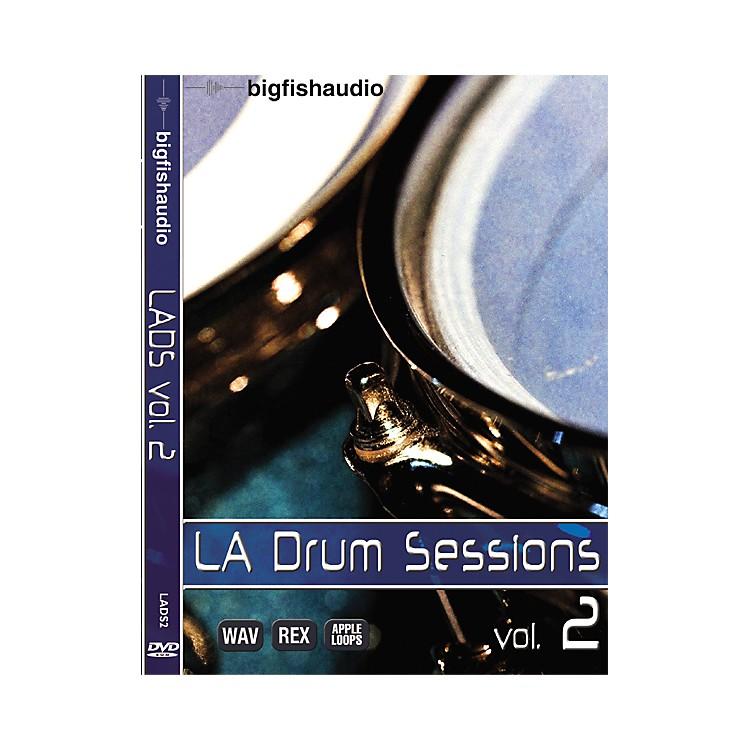 Big FishLA Drum Sessions Vol. 2 Sample Library DVD
