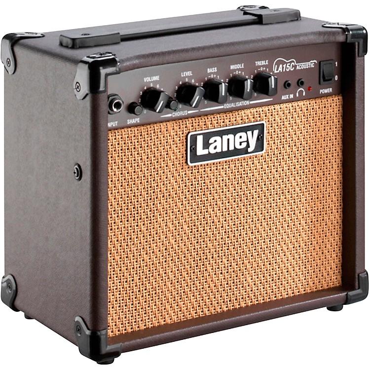 LaneyLA15C 15W 2x5 Acoustic Combo AmpBrown
