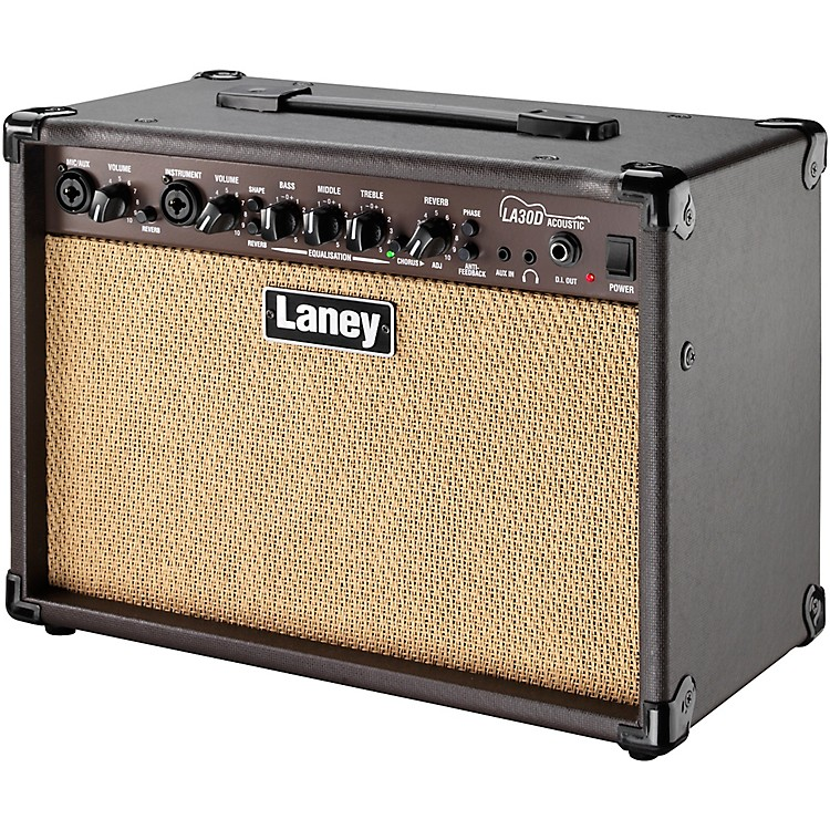 Laney LA30D 30W 2x6.5 Acoustic Guitar Combo Amp Brown
