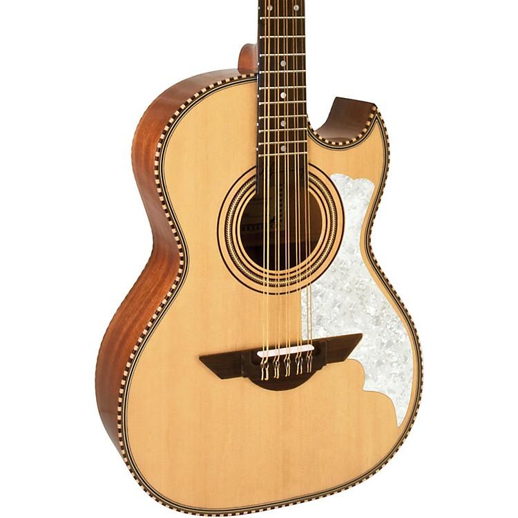H. JimenezLBQ2E El Musico (The Musician) Full Body Bajo Quinto Acoustic-Electric GuitarNatural