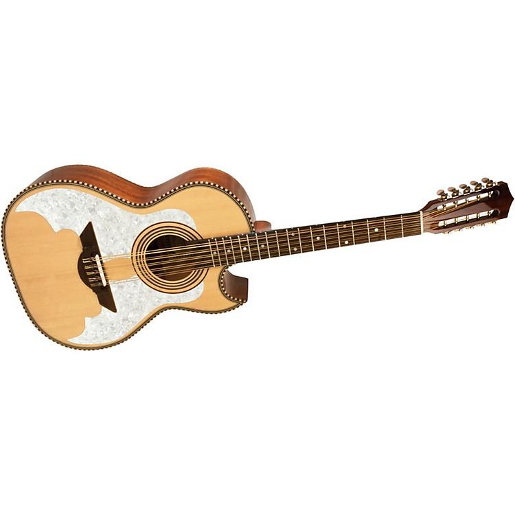 H. JimenezLBQ3E El Murcielago (The Bat) Full Body Bajo Quinto Acoustic-Electric GuitarNatural
