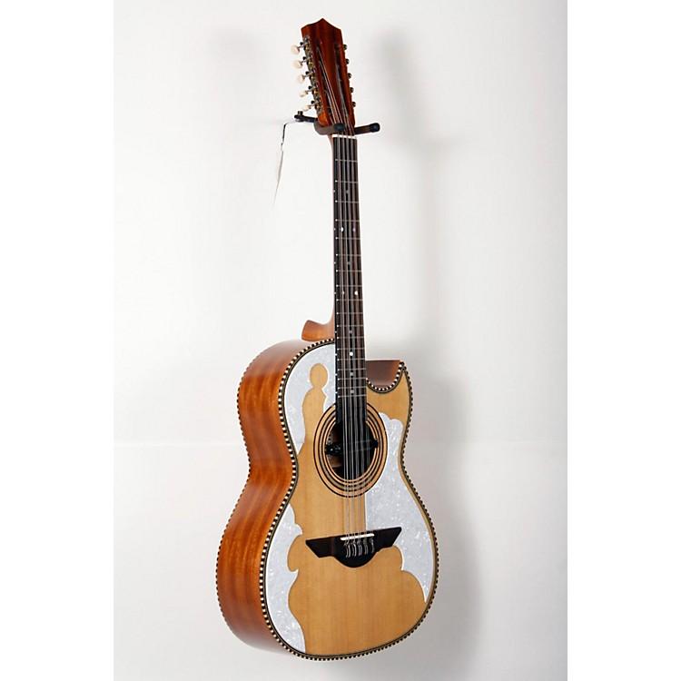 H. JimenezLBQ4E El Patron Acoustic-Electric Bajo QuintoNatural888365820774