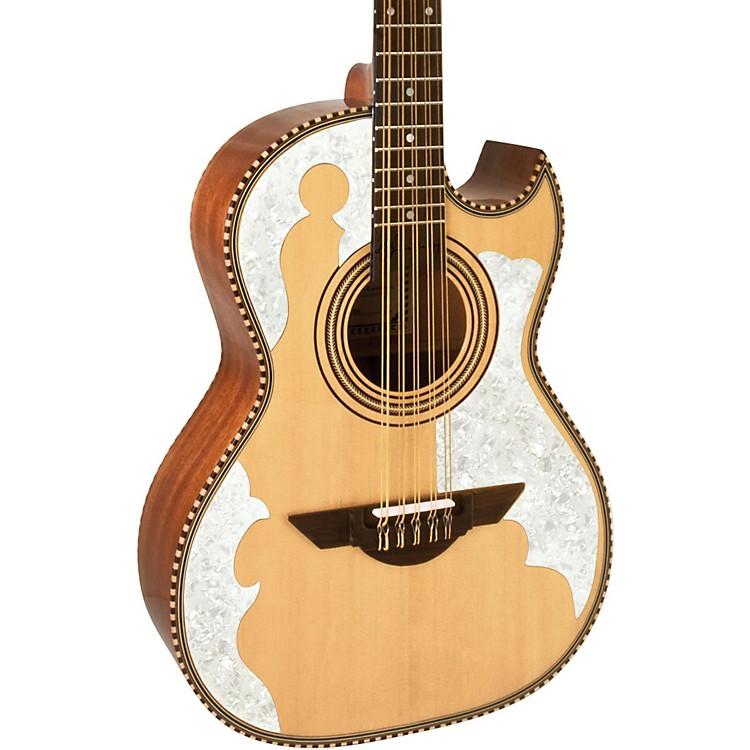 H. JimenezLBQ4E El Patron Acoustic-Electric Bajo QuintoNatural888365843315