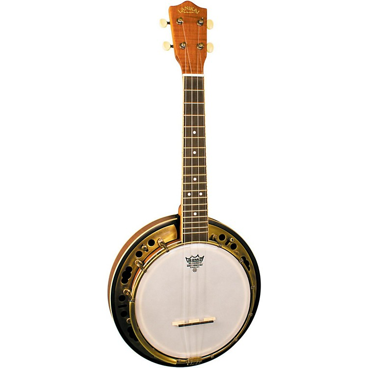 Lanikai LBU-C Concert Size Banjolele with Custom Gig bag Satin Natural