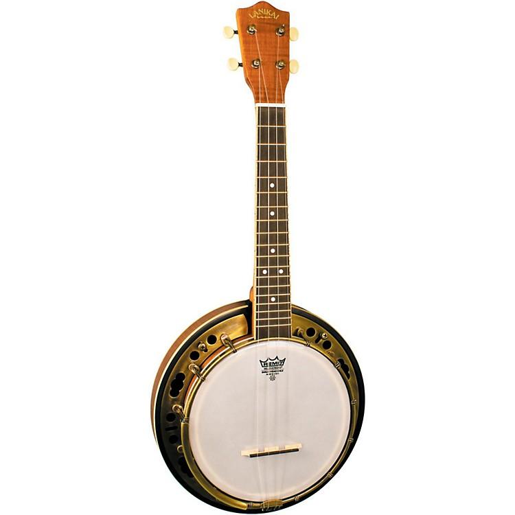 LanikaiLBU-C Concert Size Banjolele with Custom Gig bagSatin Natural