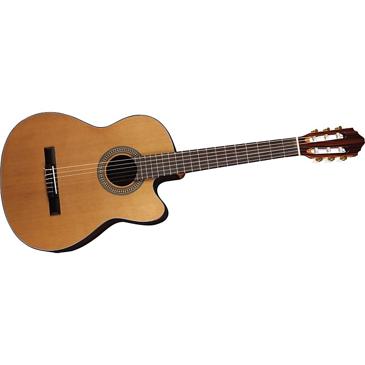 Lucero LC200CE Cutaway Acoustic-Electric Classical Guitar