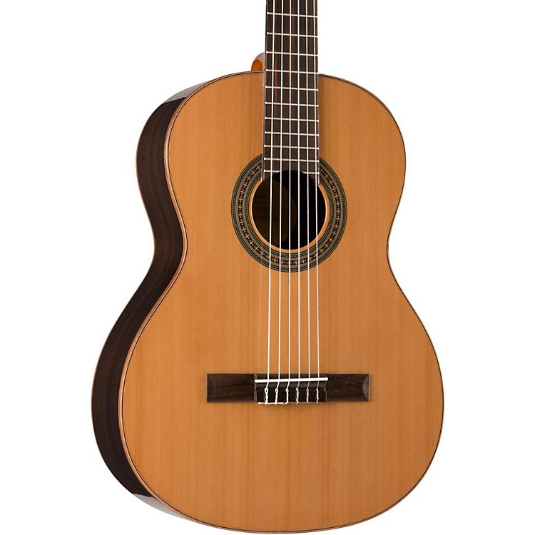 Lucero LC200S Solid-Top Classical Acoustic Guitar Natural
