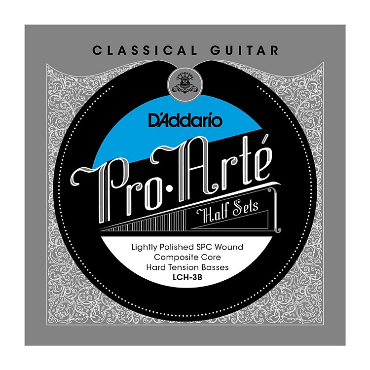 D'AddarioLCH-3B Pro-Arte Hard Tension Classical Guitar Strings Half Set