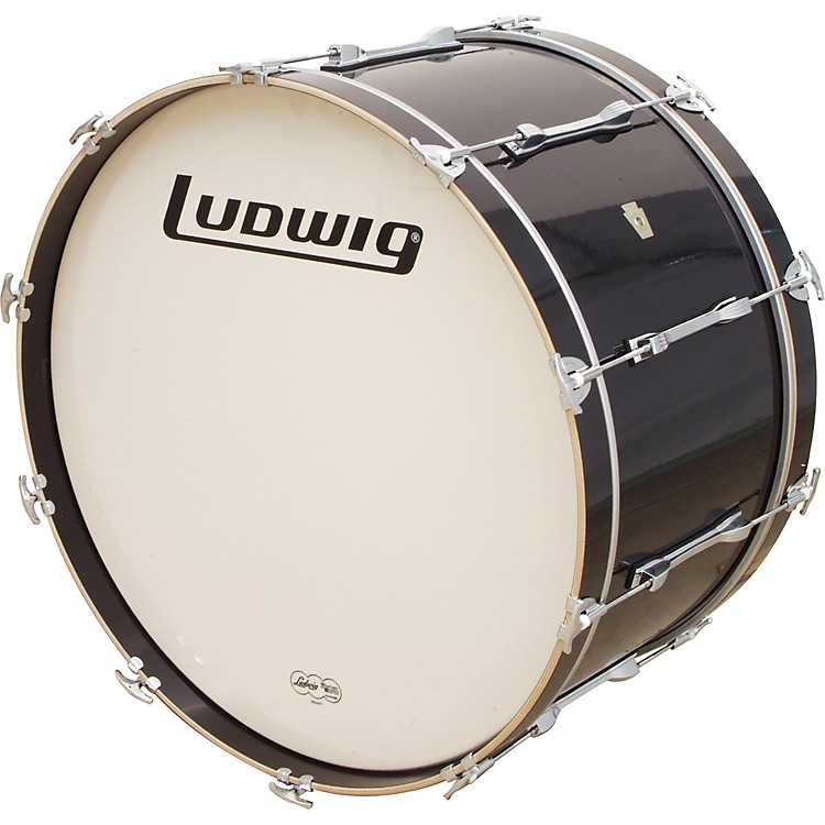 Ludwig LE-CB Bass Drum Black Cortex 14x28