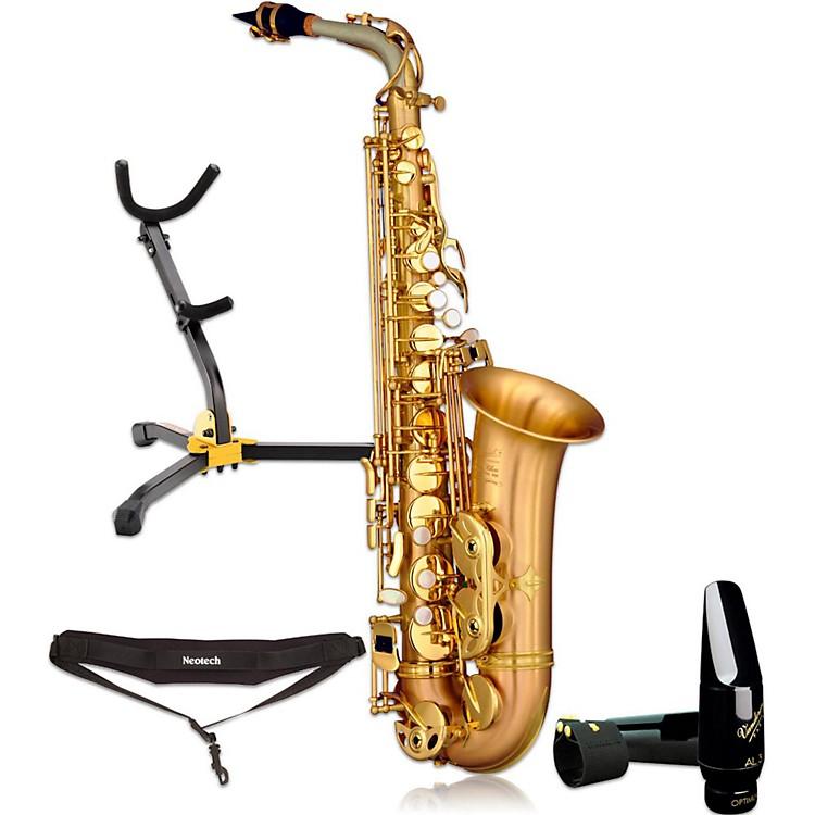 P. MauriatLEBRAVO200A Intermediate Matte Finish Alto Saxophone Kit