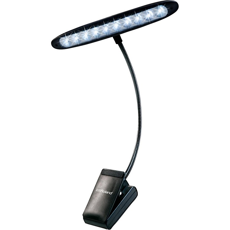 Roland LED Orchestral Clip Light - Cool Lights, 10 Bulbs
