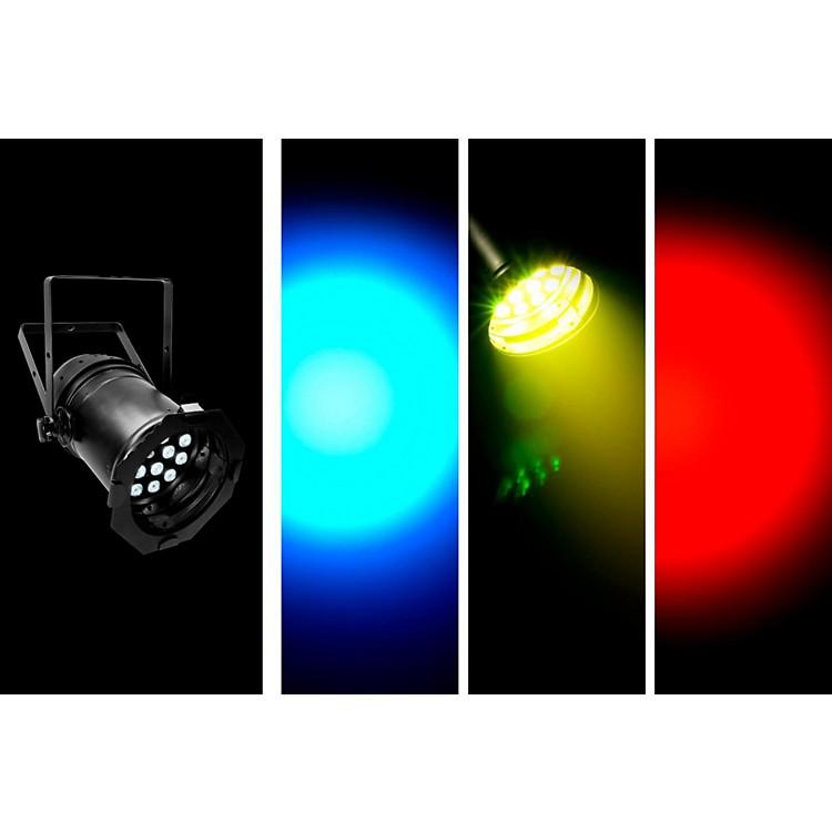 CHAUVET DJLED PAR 64 Tri LED Par CanBlack