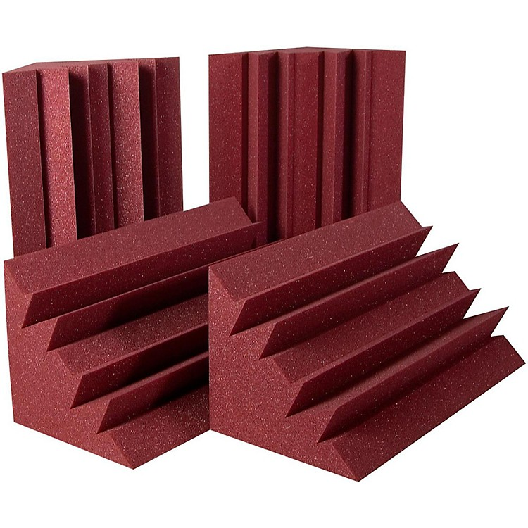 Auralex LENRD Bass Trap (8 pack) Burgundy