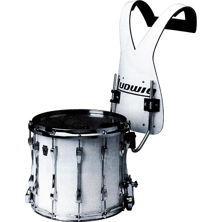 ludwig lf t124 challenger snare drum with vest carrier music123. Black Bedroom Furniture Sets. Home Design Ideas