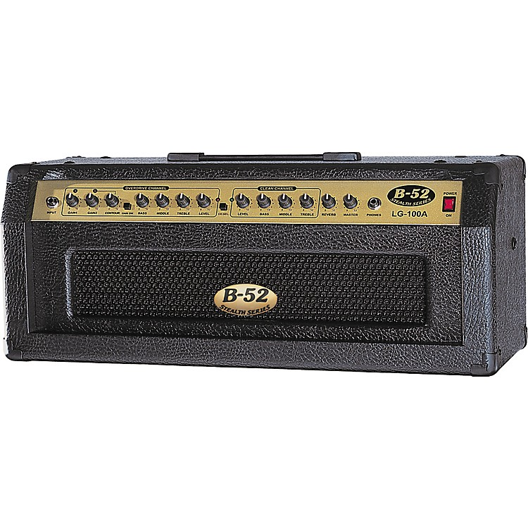 b 52 lg 100a 100w solid state guitar amp head music123. Black Bedroom Furniture Sets. Home Design Ideas