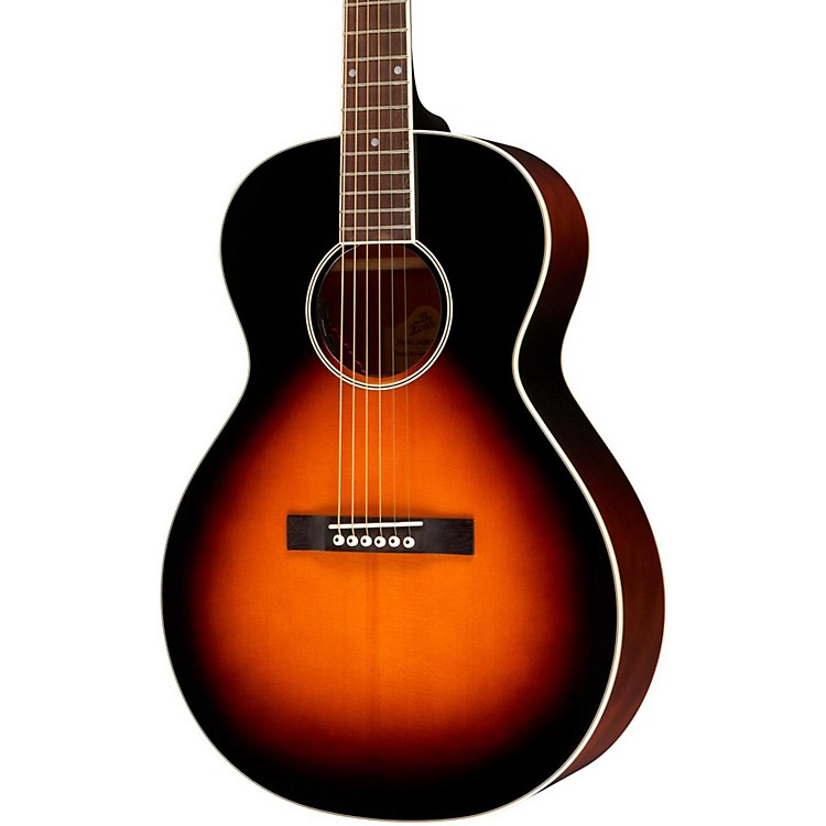 the loar lh 200 small body acoustic electric guitar music123. Black Bedroom Furniture Sets. Home Design Ideas