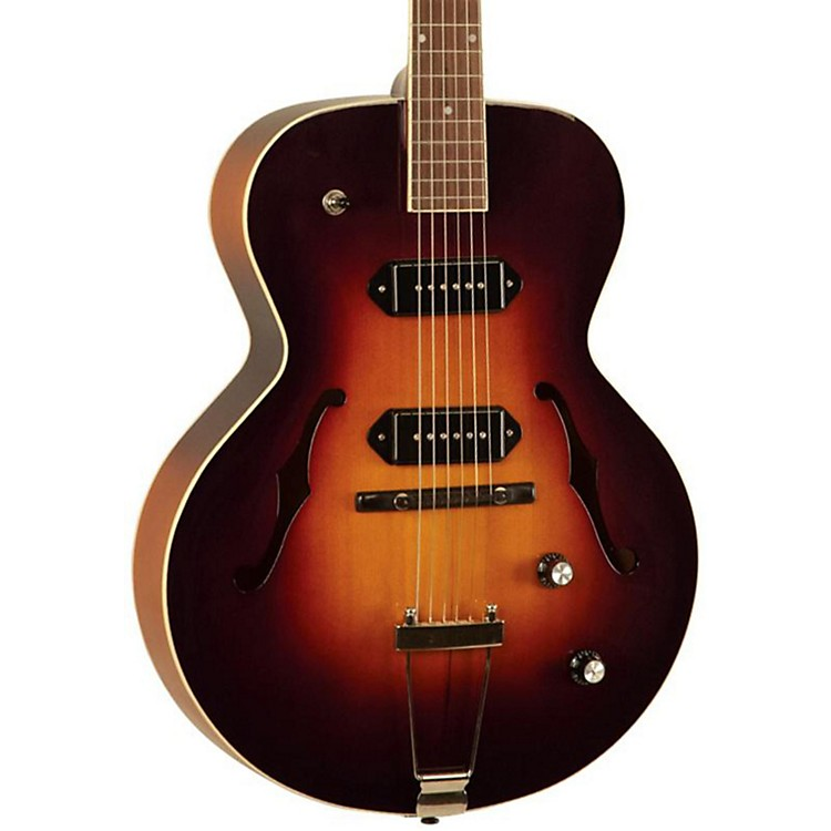 The Loar LH-319-VS Hollowbody Electric Guitar Vintage Sunburst