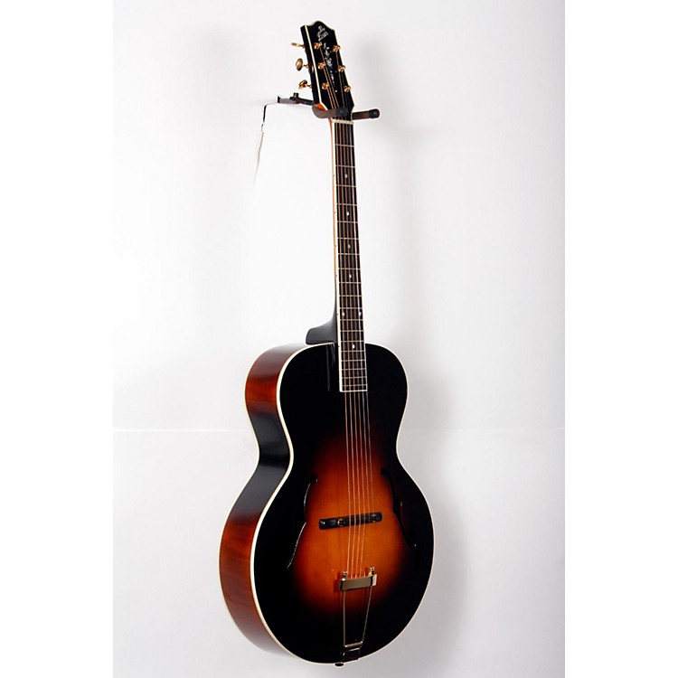 The Loar LH-700 Archtop Acoustic Guitar Vintage Sunburst 888365821207