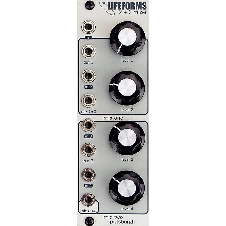 Pittsburgh Modular SynthesizersLIFEFORMS 2+2 MIXER