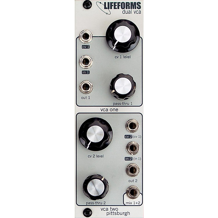 Pittsburgh Modular SynthesizersLIFEFORMS DUAL VCA