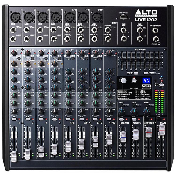 AltoLIVE 1202 12-Channel 2-Bus Mixer