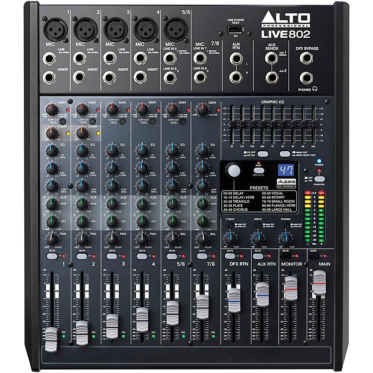 AltoLIVE 802 8-Channel 2-Bus Mixer