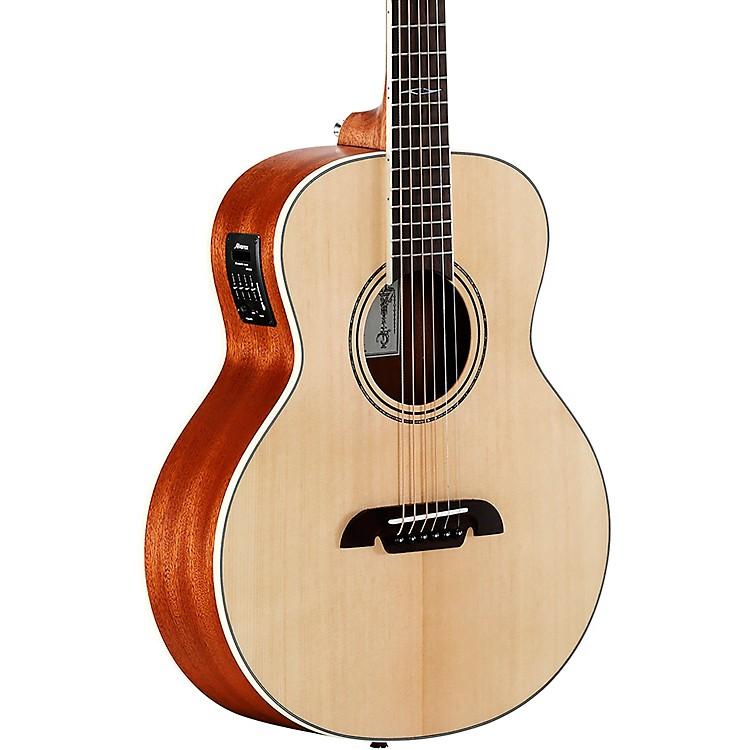 AlvarezLJ2E Travel Acoustic-Electric GuitarNatural