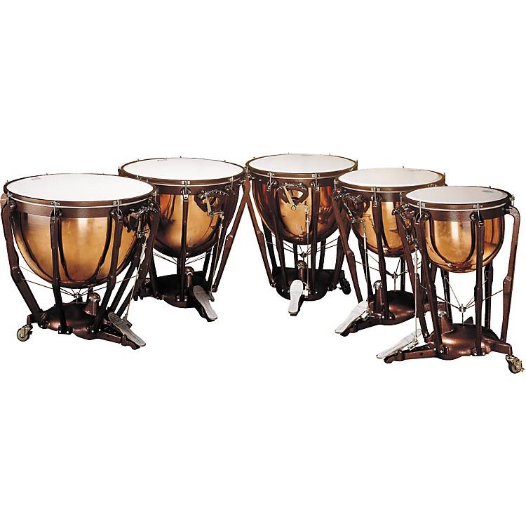 LudwigLKP505PG Professional Polished Copper Timpani Set of 5