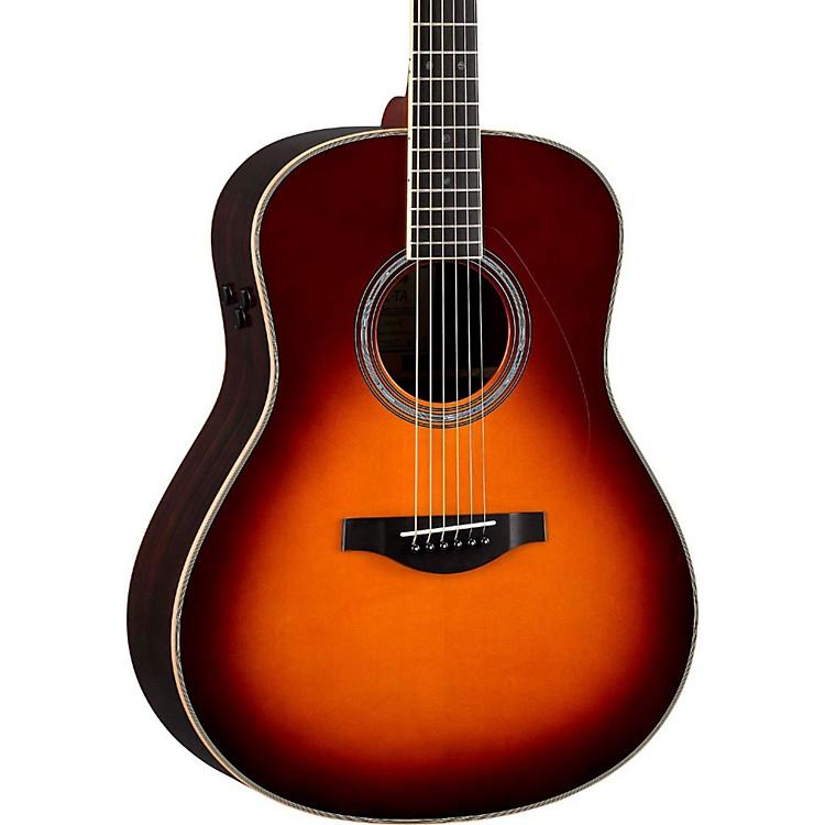 YamahaLL-TA Transacoustic Jumbo Concert Acoustic-Electric GuitarBrown Sunburst