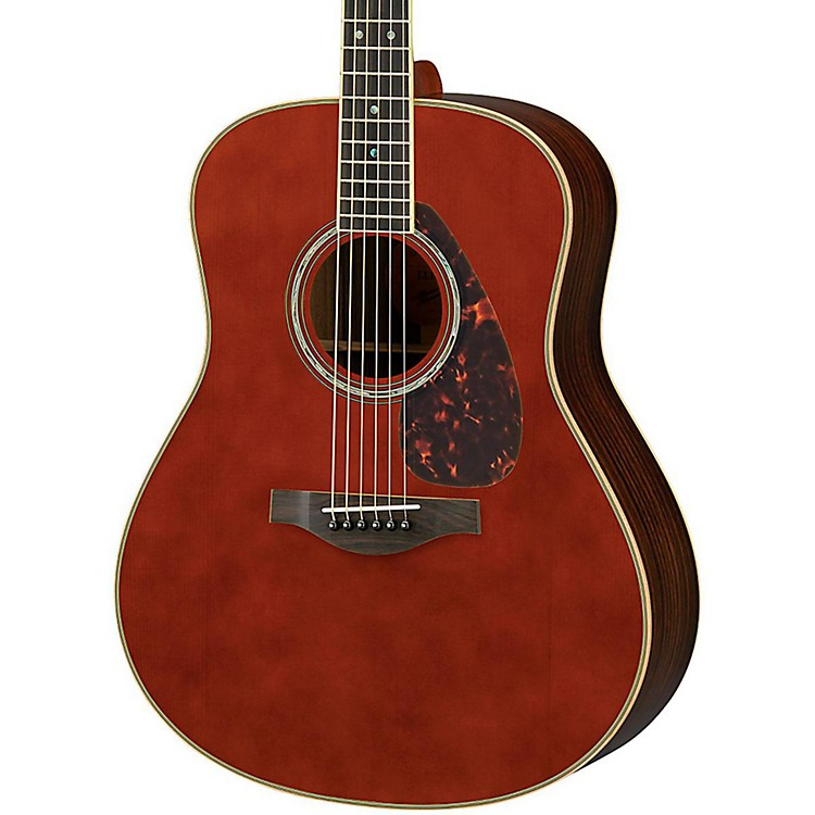 Yamaha ll16r l series solid rosewood spruce dreadnought for Yamaha l series guitars