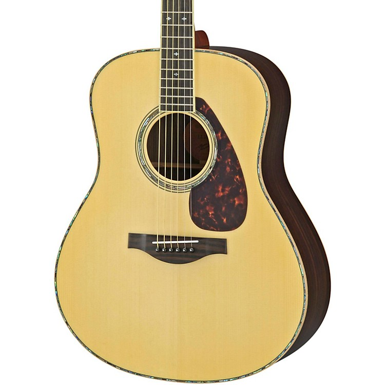 Yamaha LL16RD L Series Solid Rosewood/Spruce Dreadnought Acoustic-Electric Guitar Natural