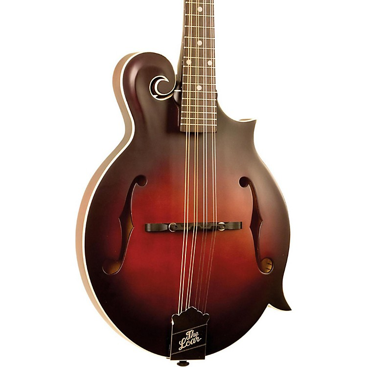 The LoarLM-310F Hand-Carved F-Style MandolinVintage Brown