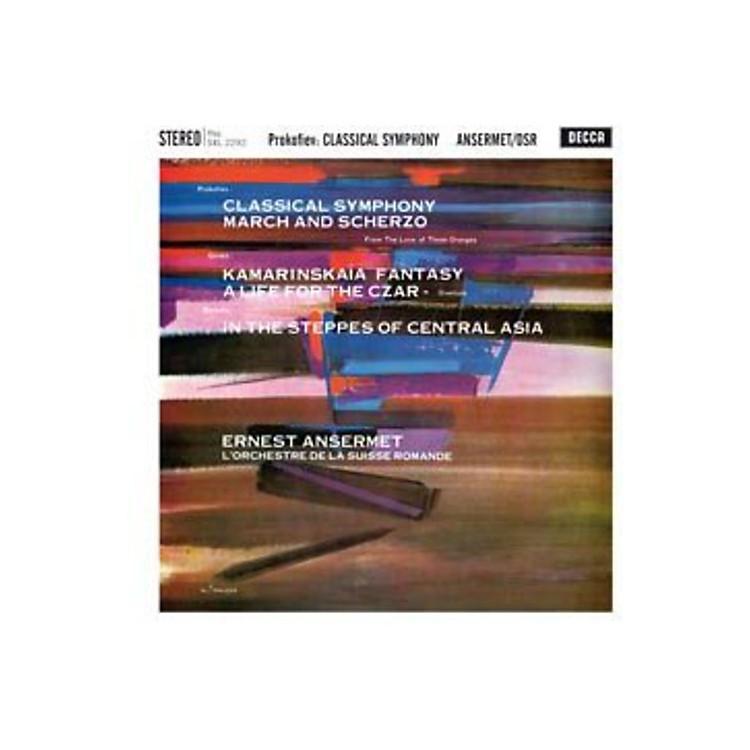 AllianceL'Orchestre de la Suisse Romande - Classical Symphony