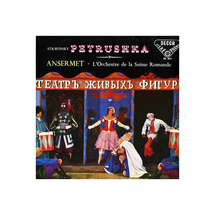AllianceL'Orchestre de la Suisse Romande - Petrushka