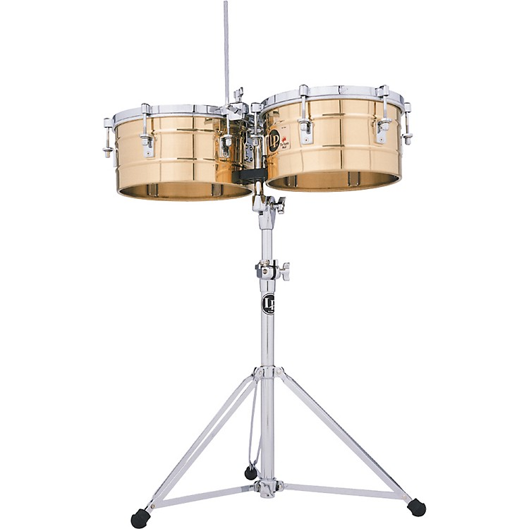 LPLP256-BZ Tito Puente 13 Inch and 14 Inch Bronze Timbales