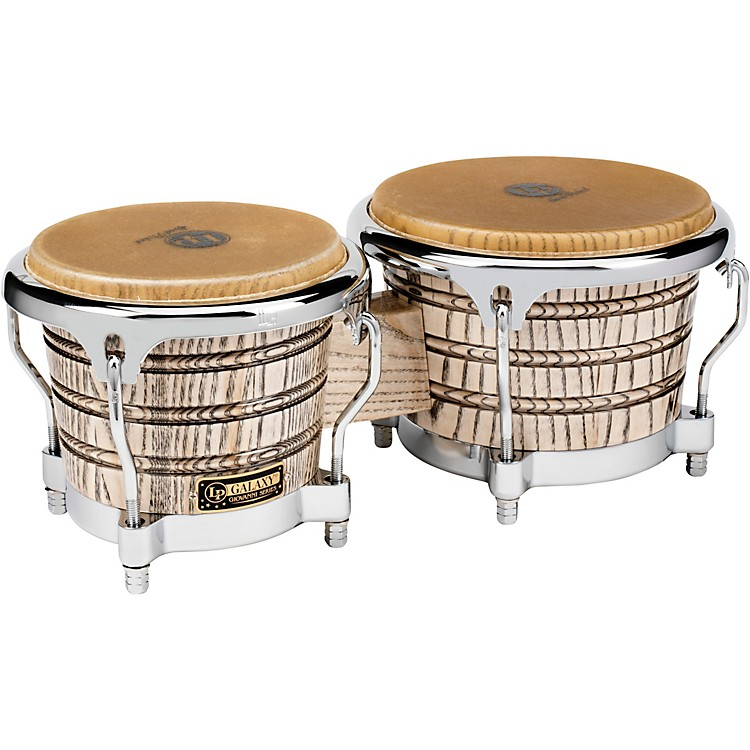 LP LP793X Giovanni Galaxy Series Bongos Chrome