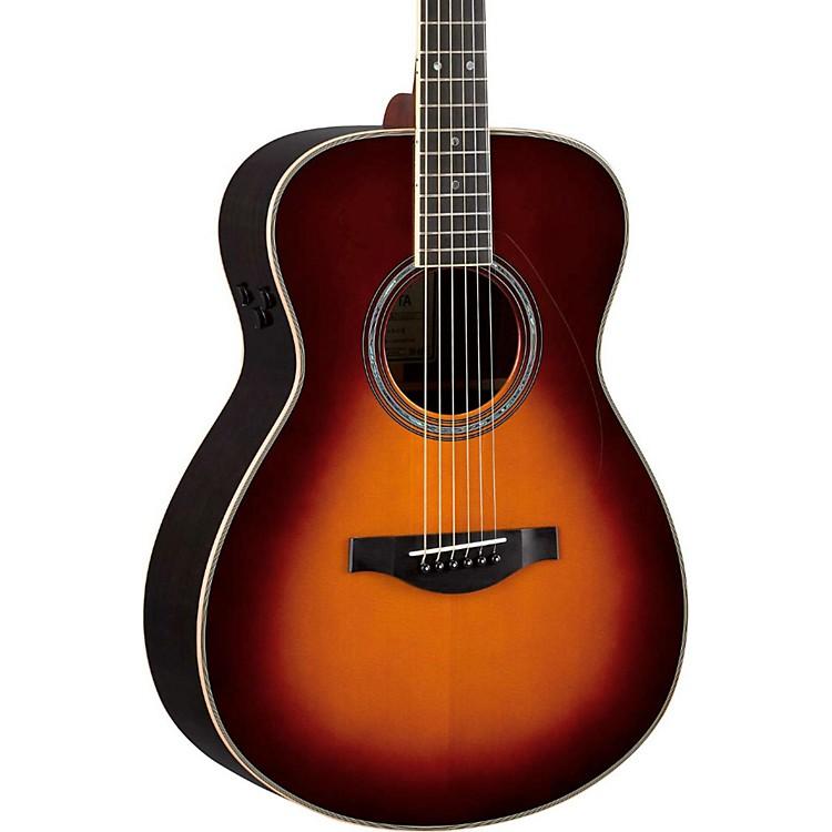 YamahaLS Transacoustic Jumbo Concert Acoustic-Electric GuitarBrown Sunburst