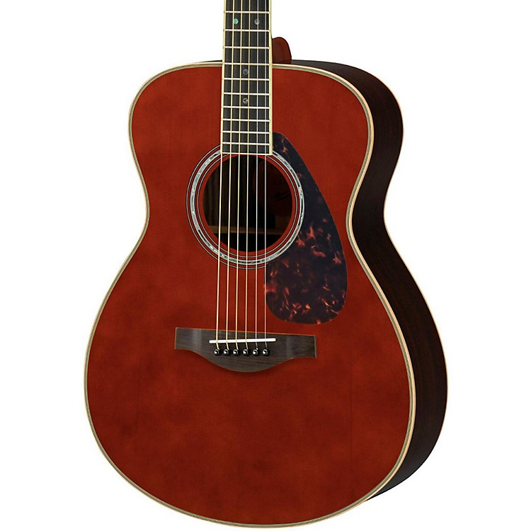 YamahaLS16R L Series Solid Rosewood/Spruce Concert Acoustic-Electric GuitarDark Tinted Natural