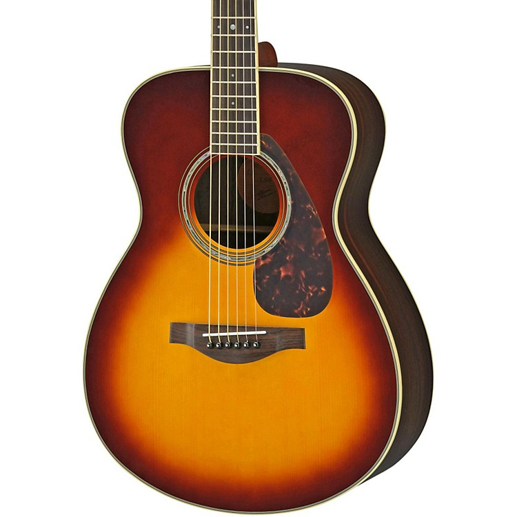 Yamaha LS6R L Series Rosewood/Spruce Concert Acoustic-Electric Guitar Brown Sunburst