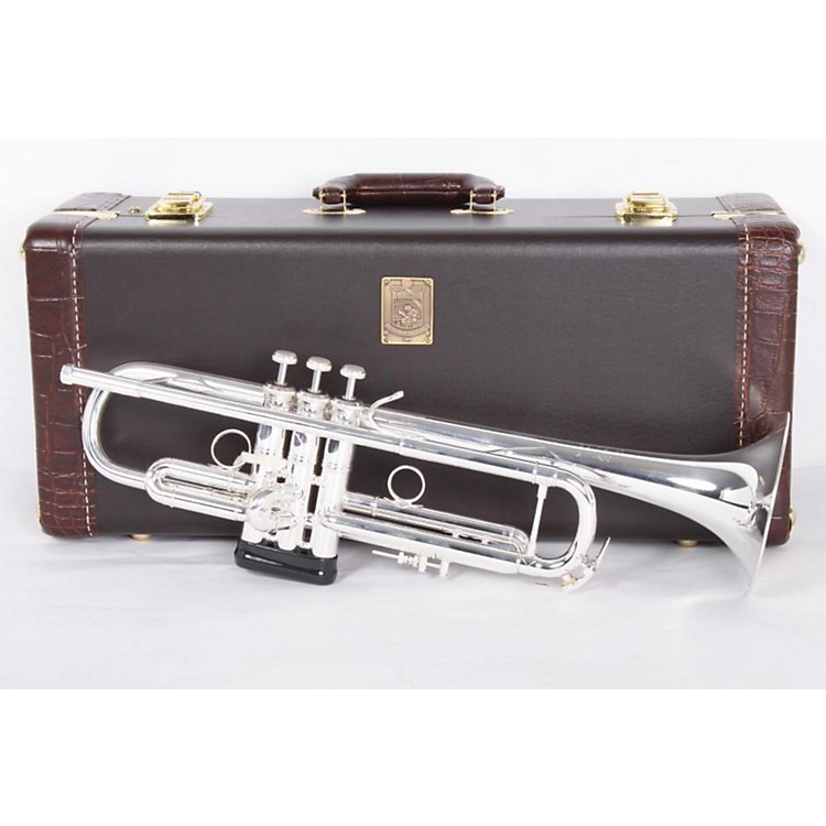 BachLT18077 Stradivarius New York #7 Series Bb TrumpetLT180S77 Silver886830433504