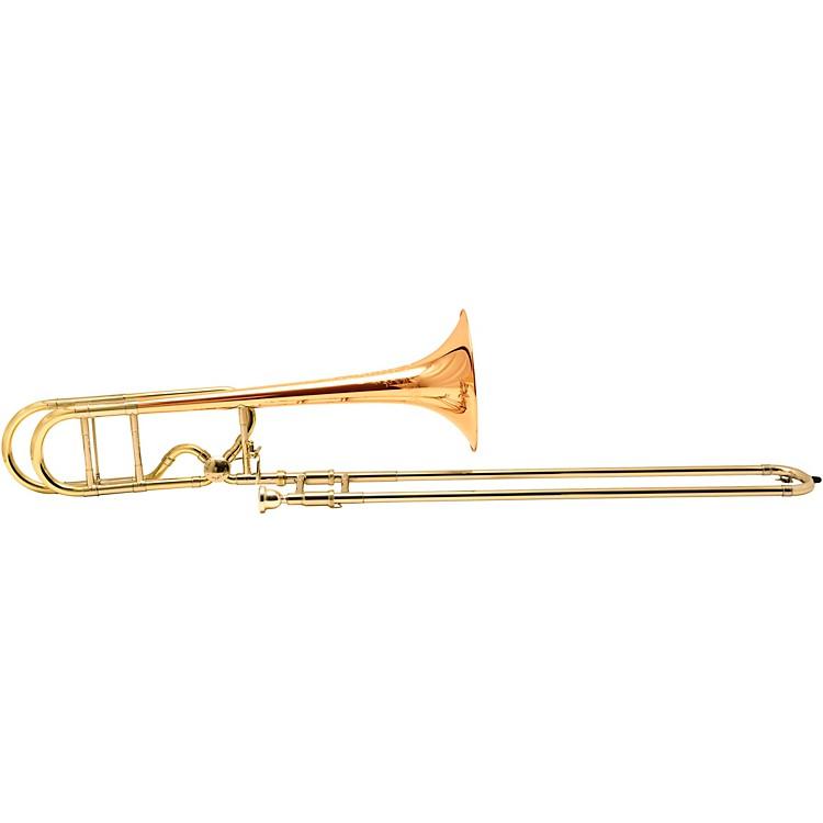 BachLT42BOFG Stradivarius Centennial Series Professional F-Attachment Tenor TromboneLacquerGold Brass Bell